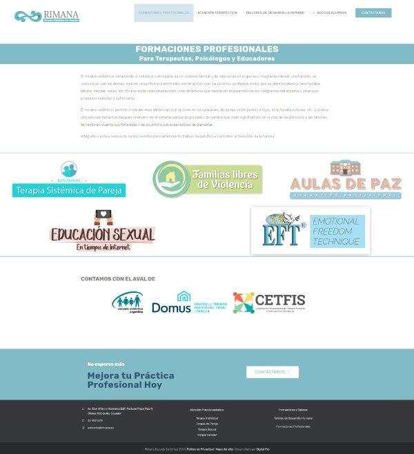 Portafolio de sitios web