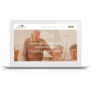 Página de inicio del website de Las Buganvillas