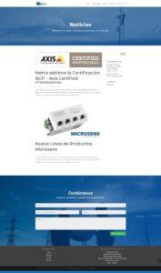 Blog desarrollado en WordPress