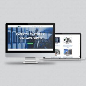 Página web desarrollada en CMS WordPress