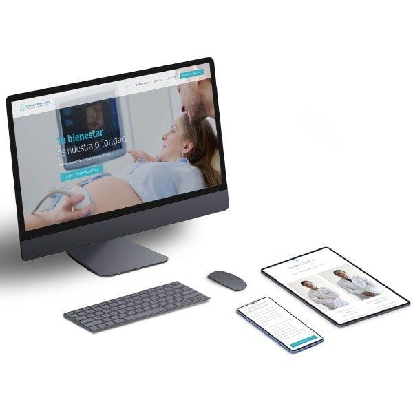 Portafolio web médico