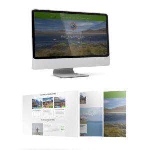 Sitio web de Fairtravel4u para posicionamiento en nicho de búsquedas