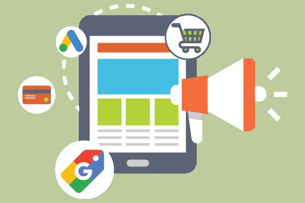 Campañas de anuncios de shopping de google